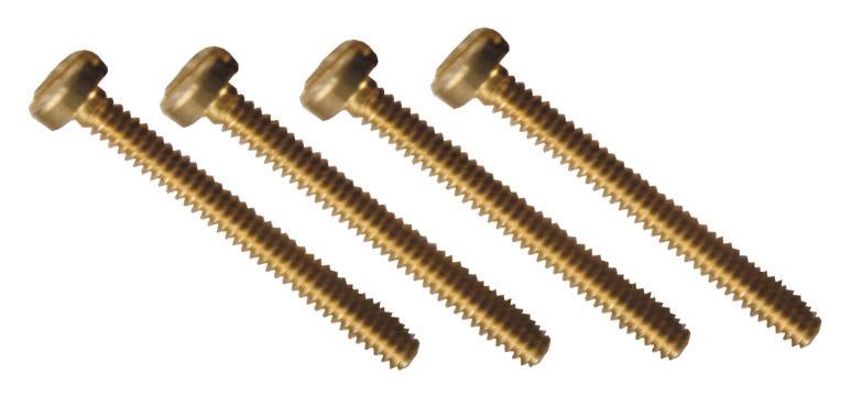 Schraube M2-10, 25 Stück