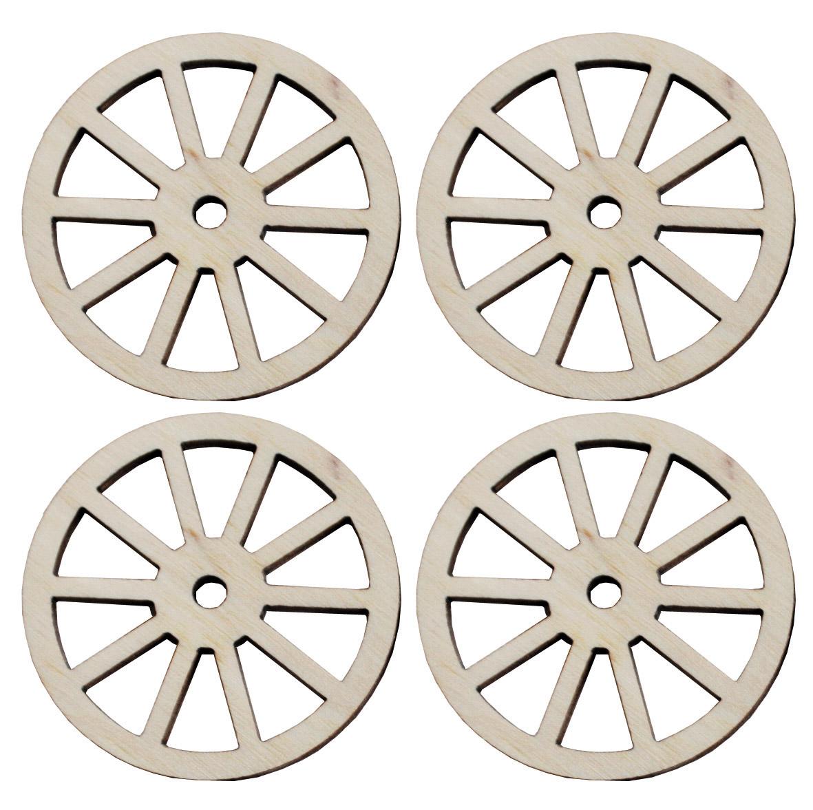 Spoked wheels, diameter: 45 mm