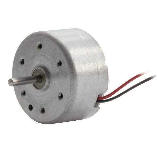 Solar- und Leichtlaufmotor RF300CAS, Achswellenlänge 10 mm lang