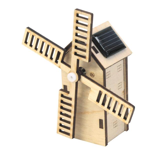 Mini Solar Windmühle