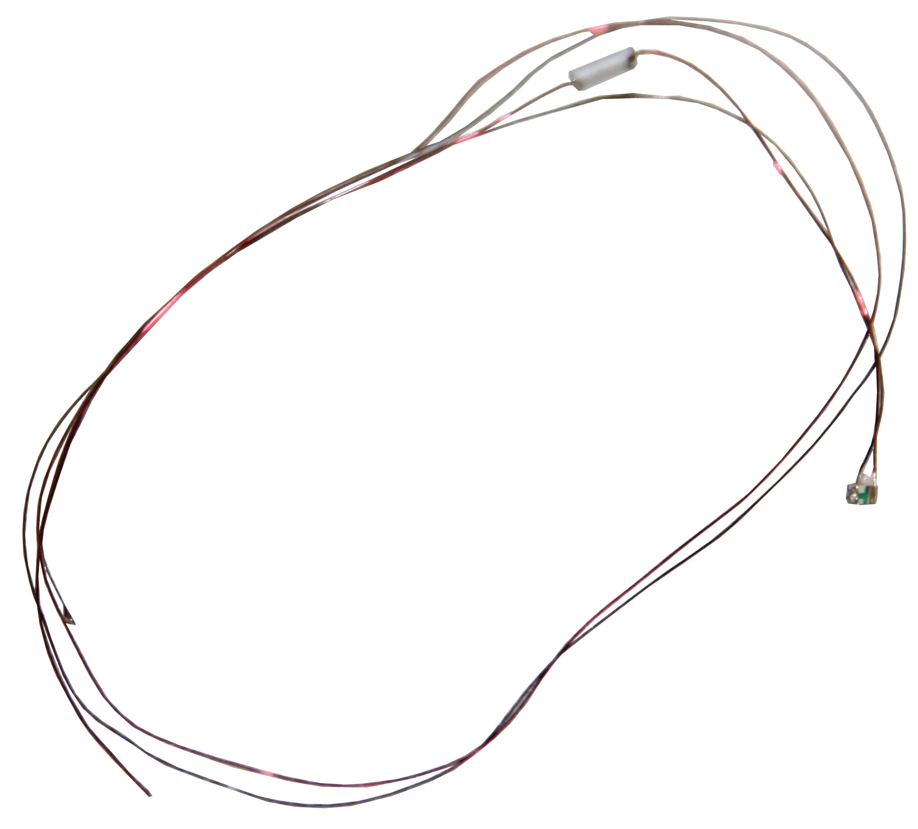 Leuchtdiode 0603, orange, mit Kabel, 3,7-4,8 V