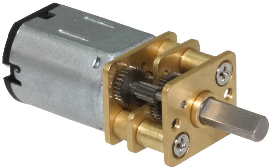 G100 Motor mit Metallgetriebe