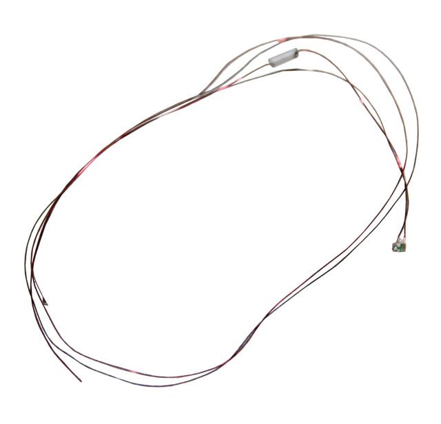 Leuchtdiode 0402, kaltweiss, mit Kabel