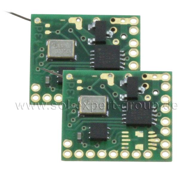 2,4 Ghz Empfänger RX43D mit DSMX und DSM2, 2er Set