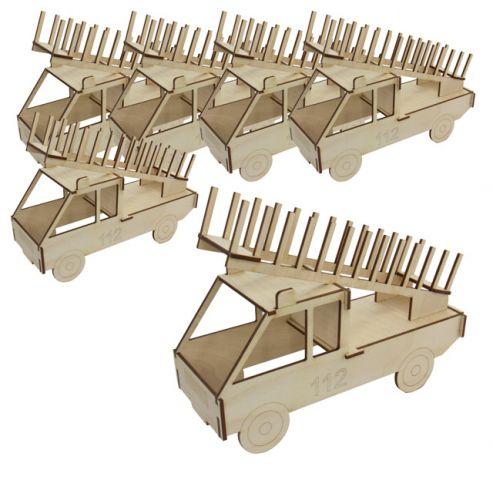 cd staender feuerwehr f r 12 cds 5er set sol expert group. Black Bedroom Furniture Sets. Home Design Ideas
