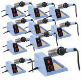 Soldering station 48 watt, adjustable, with soldering stand, set of 10