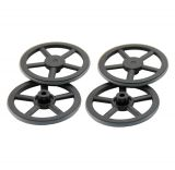 Lightweight wheel, 40 mm diameter, set of 4