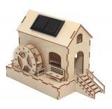 Solar water mill
