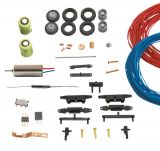Conversion kit for wire-bound vehicles