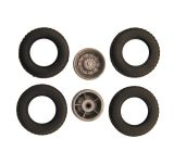 B6 lorry dual tyres for 1:87 lorry