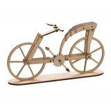 Bicyclette en bois «Leonardo da Vinci